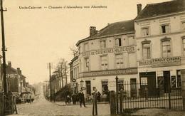 Photo : Ukkel, Uccle : Uccle-Caelevoet, Chaussée D'alsemberg, Photo D'une Ancienne Carte Postale, 2 Scans - Lieux