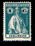 ! ! Inhambane - 1914 Ceres 1 C - Af. 73 - MH - Inhambane