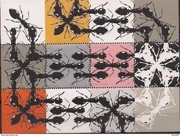 2012  Austria  Mi. Bl 71**MNH    Ameisen; Graphik Von Peter Kogler - Blocks & Kleinbögen