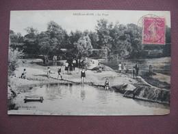 CPA 10 ARCIS SUR AUBE La Plage ANIMEE 1936 - Arcis Sur Aube