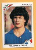 """Figurina Panini Coppa Del Mondo """"Mexico 86"""" France - William Ayache - Tarjetas"""