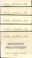 Documents Philatéliques N° 74 à N° 78 - Philatélie Et Histoire Postale