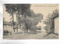 80 - GRATTEPANCHE ( Somme ) - Un Coin Du Village - Other Municipalities