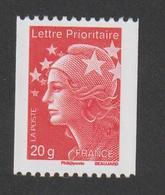 TIMBRE -   2011  -  N°  4572  -  Marianne De Beaujard  TVP Rouge  N° 330 Noir Au Verso   -       Neuf Sans Charnière - Neufs