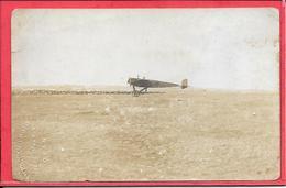 Carte Photo De L'avion De Vedrines Photographe Américan Photo Places D'armes Oran - ....-1914: Précurseurs