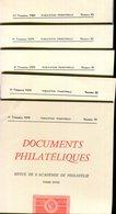 Documents Philatéliques N° 79 à N° 83 - Philatélie Et Histoire Postale