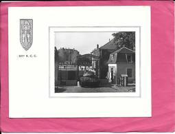 Carte De Voeux Diptique Du 501ème R. C. C. Avec Photo De L'entrée De La Caserne De Rambouillet 1961 - Casernes