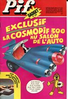 Pif Gadget N°396 - BD Docteur Justice - Loup Noir - Pif Gadget