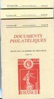 Documents Philatéliques N° 89 à N° 91 - Filatelie En Postgeschiedenis