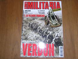 ARMES MILITARIA Magazine Hors Série N° 61 Guerre 14 18 Verdun 1916 Douaumont Fort Artillerie Vaux Aviation Tranchée - Guerra 1939-45