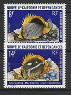 NOUVELLE CALEDONIE 1973 YT N° 387 Et 388 ** - New Caledonia