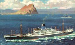 S.S. Patroclus. Carguero. Cargo Ship. Naviere Cargo - Commerce
