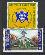NOUVELLE CALEDONIE 1973-74 YT N° 389 Et 390 ** - New Caledonia