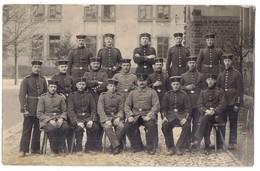 Foto Gruppe Deutsche Soldaten - Weissenburg /AU/ - Weltkrieg 1914-18