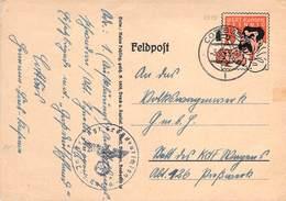 """WWII WW2 German Anti-British Propaganda Stalin Feldpost """"Wert Keinen Pfennig"""" Postcard FREE SHIPPING WORLDWIDE (17) - Allemagne"""