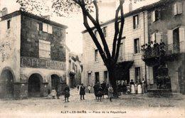 13856    ALET LES BAINS   PLACE DE LA REPUBLIQUE - Other Municipalities