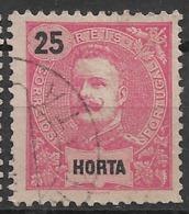 Horta – 1898 King Carlos 25 Réis - Horta