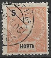 Horta – 1897 King Carlos 5 Réis - Horta