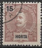 Horta – 1897 King Carlos 15 Réis - Horta