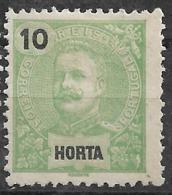 Horta – 1897 King Carlos 10 Réis - Horta