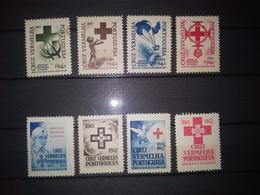Cruz Vermelha Portuguesa 1941, 1942** - Portugal