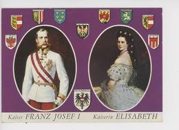 Kaiser Franz Josef I & Kaiserin Elisabeth (Autriche Sissi)  - Armoiries - Familles Royales