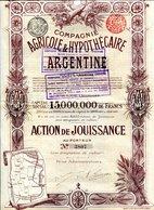 AGRICOLE & HYPOTHÉCAIRE ARGENTINE - Unclassified