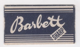 BARBETT SHARP DENMARK RAZOR BLADE - Scheermesjes