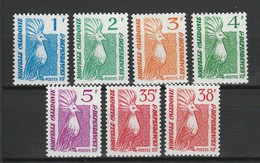 NOUVELLE CALEDONIE 1985 YT N° 491 à 497 ** - New Caledonia