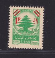 LIBAN N°   67 ** MNH Neuf Sans Charnière, TB (D9351) Cèdre, Surchargé - 1953 - Liban