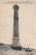 (ROYAN) Le Phare De La Coubre Pris La Veille De Sa Chute.... 20 Mai 1907. ..... - Royan