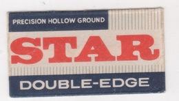 STAR DOUBLE-EDGE RAZOR BLADE - Scheermesjes