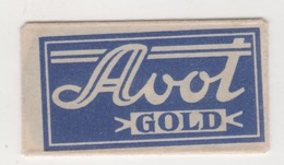 AVOT GOLD  RAZOR BLADE - Scheermesjes