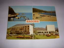 CP CARTE POSTALE CORSE SAGONE DIVERS ASPECTS - ECRITE En 1977 - Other Municipalities