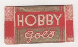 HOBY GOLD  RAZOR BLADE - Scheermesjes