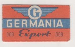GERMANIA EXPORT RAZOR BLADE - Scheermesjes