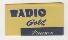 RADIO GOLD RAZOR BLADE - Scheermesjes
