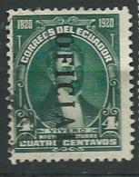Equateur   Service  -  Yvert N°  142 Oblitéré -    Ay 14627 - Equateur