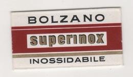 BOLZANO SUPERINOX  RAZOR BLADE - Scheermesjes