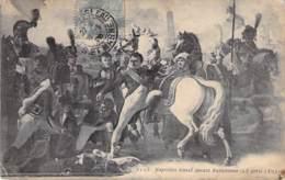 Personnages POLITIQUES - NAPOLEON Blessé Devant RATISBONNE (23 Avril 1809) - CPA - - Personnages