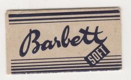 BARBETT SOFT  RAZOR BLADE - Scheermesjes