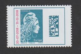 TIMBRE -  2018    -  N°  5270   -   Marianne D' Izeux  -  Europe Bleu  -      Neuf Sans Charnière - France