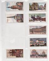 Lot 8 Cigarettes Labels 1910s. Russia Ukraine.Rostov Vilna Reval Riga Perm Solovetski. Architecture #5. - Collections & Lots