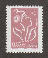 TIMBRE -  2005   -  N°  3757 -   Marianne De Lamouche   0.82 Lilas Brun Type II , ITVF  -        Neuf Sans Charnière - Frankreich