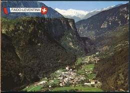 °°° 19417 - SVIZZERA - TI - FAIDO LEVENTINA - With Stamps °°° - TI Tessin