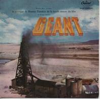 45T. BO Film : GEANT - Musique De DIMITRI TIOMKIN - (acteur James DEAN) - Música De Peliculas