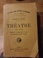 Theatre. Tome 2 : Othello, Le More De Venise, Le Marchand De Venise - Alfred De Vigny - Théâtre