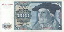 GERMANY FED. REP.  P34c 100 MARK 1977 VF+ - 100 Deutsche Mark