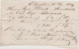 9078 Eb.   Erberfeld  ( Wuppertal ) - 15 Dec. 1819 - Deutschland
