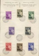 1937 Premier Jour. (voir Ø) Astrif Et Price Baudouin  Très Frais - FDC